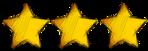 3 stars smaller