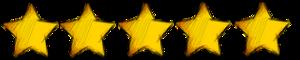 5 stars smaller